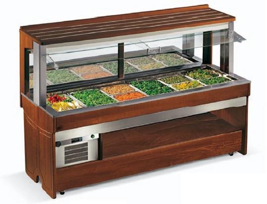 Тепловые салат-бары