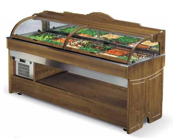 Охлаждаемые салат-бары