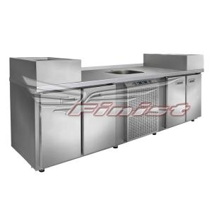 Холодильные столы - станции для приготовления (универсальные)