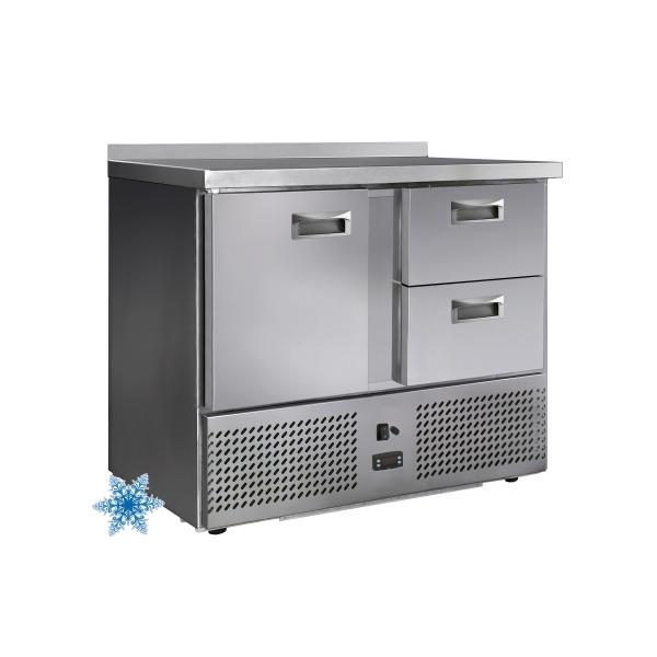Низкотемпературные холодильные столы с дверями и ящиками
