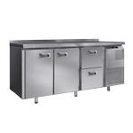 Столы холодильные с дверями и ящиками