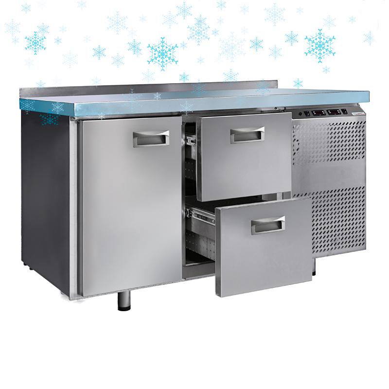 Столы холодильные с охлаждаемой столешницей