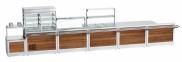 Прилавок для столовых приборов и подносов ПСПХ-70Х 3