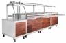 Прилавок холодильный высокотемпературный передвижной для самообслуживания ПВВ(Н)-70ПМ-01-НШ 4