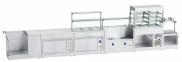 Прилавок для столовых приборов и подносов ПСПХ-70Х 5