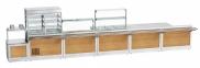 Прилавок для столовых приборов и подносов ПСПХ-70Х 1