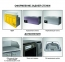 Низкотемпературный холодильный стол НХС-700-1/2 2