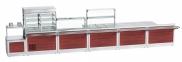 Прилавок для столовых приборов и подносов ПСПХ-70Х 2