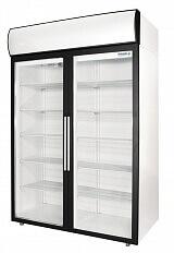 Холодильные шкафы Standard со стеклянными дверьми DM114-S