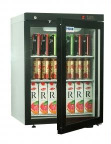 Холодильные шкафы со стеклянными дверьми DM102-Bravo с замком