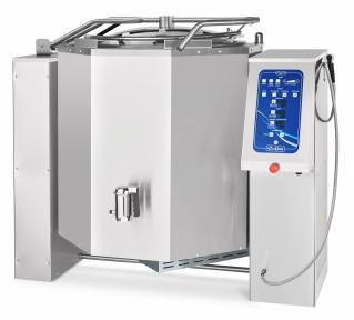 Котел пищеварочный электрический с функциями опрокидывания КПЭМ-350-ОМ2 со сливным краном