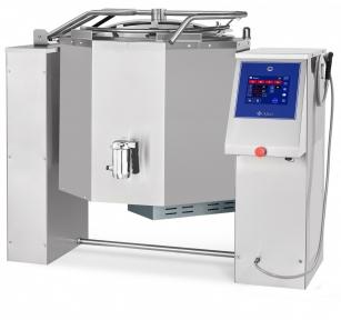 Котел пищеварочный электрический с функциями опрокидывания КПЭМ-160-ОМП со сливным краном