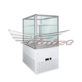 Вертикальная кондитерская холодильная витрина TERRO BOX (алюминий, двойное стекло)