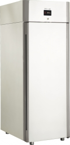 Холодильный шкаф с металлическими дверьми CM107-Sm