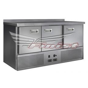 Холодильный стол с охлаждаемой столешницей СХСнос-700-3