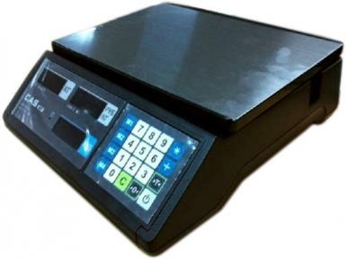 Торговые весы CAS ER JR-6CB черные