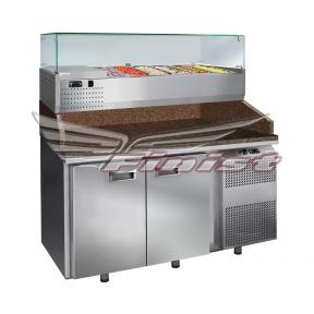 Стол холодильный для пиццы СХСнпцг-700-2 (без GN)