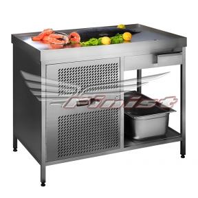 Холодильный стол с охлаждаемой поверхностью СХСо-1000