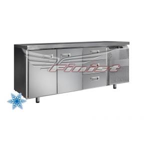 Низкотемпературный холодильный стол НХС-600-2/3
