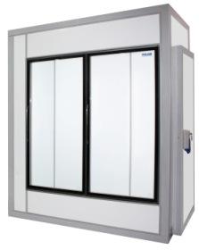Холодильные камеры со стеклянным фронтом Х5