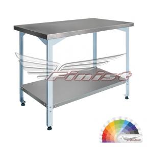 Стол производственный разборный СПБ с бортом (полимерно-порошковое покрытие)