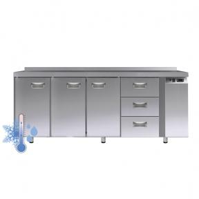 Универсальный холодильный стол УХС-700-3/3