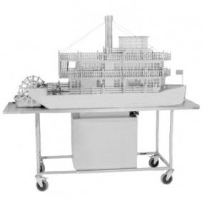 Технологическая подставка на колесах под паровоз/пароход Т-11В