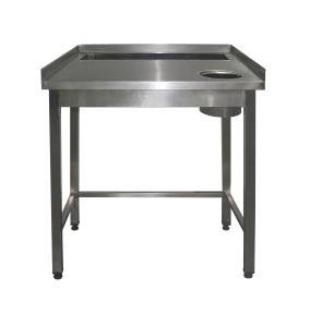 Стол для доочистки овощей/рыбы
