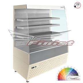 Напольная среднетемпературная холодильная витрина-горка «Elegy» (E3/1045)