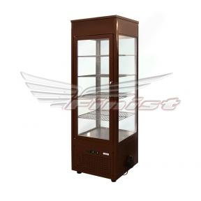 Вертикальная кондитерская холодильная витрина (краш. сталь,стеклопакет) NATALY