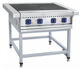 Плита электрическая четырехконфорочная без жарочного шкафа ЭП-4П