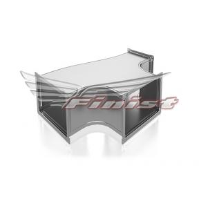 Тройник вентиляционный прямоугольный