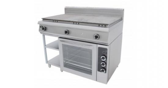 Плита со сплошной поверхностью с духовкой Ф6ЖТЛСПДГ(п) - полностью газовая духовка