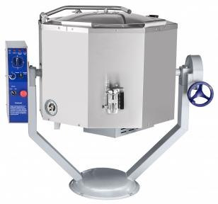 Котел пищеварочный КПЭМ-100-ОМР со сливным краном