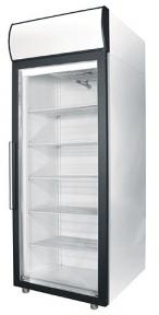 Холодильные шкафы Standard со стеклянными дверьми DM107-S