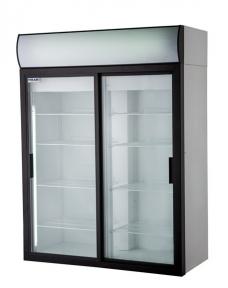 Холодильные шкафы Standard со стеклянными дверьми DM110Sd-S