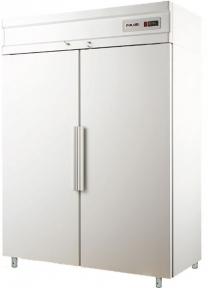 Холодильный шкаф с металлическими дверьми CM114-S