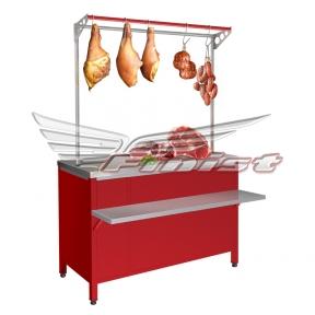 Рыночный холодильный стол РХСов