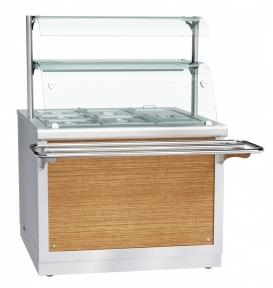 Электрический мармит кухонный 2-х блюд ЭМК-70Х-02