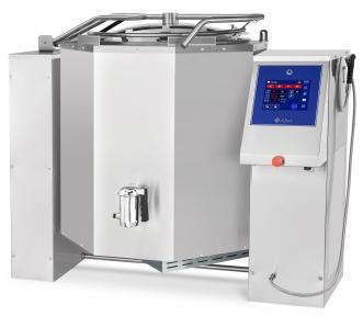 Котел пищеварочный электрический с функциями опрокидывания КПЭМ-350-ОМП со сливным краном