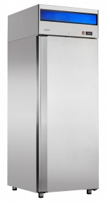 Шкаф холодильный низкотемпературный ШХн-0,7-01 нерж.