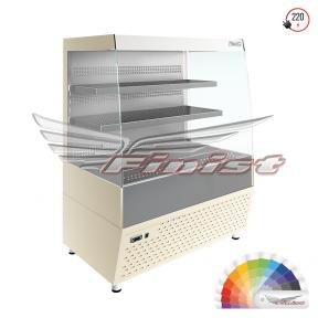 Напольная среднетемпературная холодильная витрина-горка «Elegy» (E2/1060)