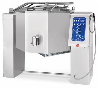 Котел пищеварочный электрический с функциями опрокидывания КПЭМ-200-ОМ2 со сливным краном