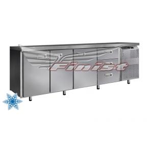 Низкотемпературный холодильный стол НХС-700-3/3