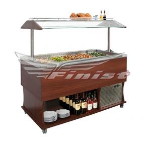 Салат-бар холодильный «Dance food» DF-4