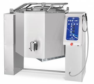 Котел пищеварочный электрический с функциями опрокидывания КПЭМ-160-ОМ2 со сливным краном