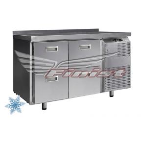 Низкотемпературный холодильный стол НХС-600-0/4