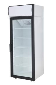 Холодильные шкафы Standard со стеклянными дверьми DM105-S версия 2.0