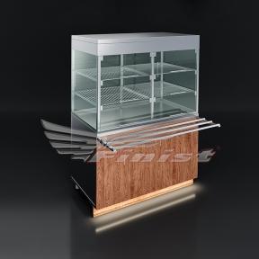 Прилавки-витрины нейтральные