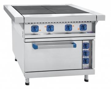 Плита электрическая четырехконфорочная с эмалированным жарочным шкафом ЭП-4ЖШ-Э